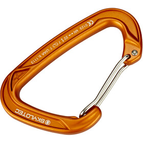 Skylotec X-Clip Carabiner Wire Gate orange